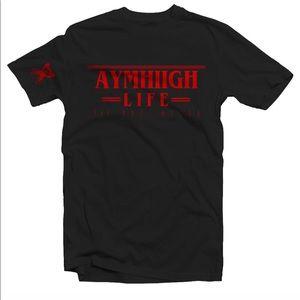 Aymhiigh stranger things logo